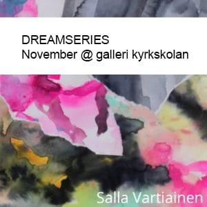 Art. Dreamseries watercolor collage